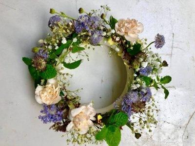 春天的花環